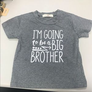 Other - Baby Boy Big Brother Tee